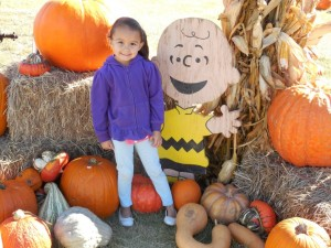 Charlie Brown knows a thing or two about pumpkins